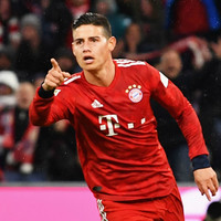 James Rodríguez hat-trick sees Bayern recover after Champions League exit to Liverpool