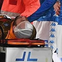 David Ospina under observation in hospital after Napoli goalkeeper collapses