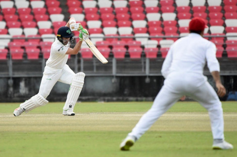 Andrew Balbirnie continued his good form with the bat but it wasn't enough for Ireland.