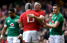 Schmidt's Ireland drop below Wales in latest World Rugby rankings