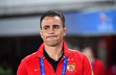 'Public uproar' - critics round on Cannavaro over China role