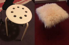 Basic Stitch: I tried to recreate this €4 IKEA stool from my favourite DIYer