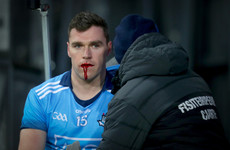 Dublin ace forward undergoes surgery for fractured jaw following clash with Tyrone keeper