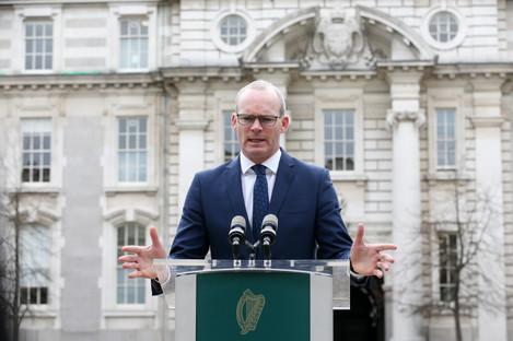 Tánaiste and Foreign Affairs Minister Simon Coveney