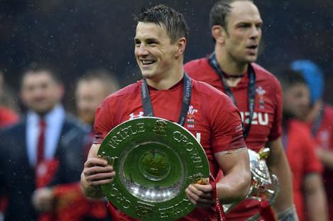 Wales' Jonathan Davies.