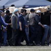 Syrian father and son buried in first funeral after New Zealand shooting