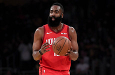 Rockets' James Harden completes the set to make NBA history