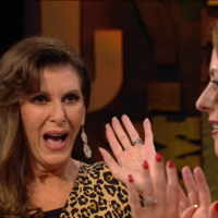 Linda Martin was having none of Amy Schumer in the nip on last night's Cutting Edge