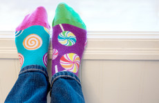 Here's why some people are deliberately wearing odd socks today