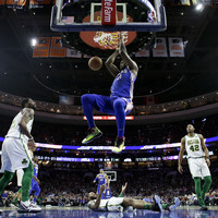 'I'm the most unstoppable player in the league,' declares Embiid after 76ers finally beat Celtics