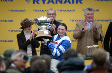 Broken collarbone rules Cheltenham hero Bryony Frost out of the Grand National