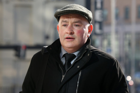 Patrick Quirke arriving at the Central Criminal Court in Dublin
