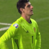 Thibaut Courtois gifts goal to Russia with howler of an error for Belgium