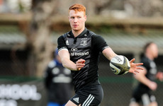 Ciaran Frawley takes over 10 shirt for Leinster as Ross Byrne is withdrawn