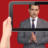 Colin Farrell isn't a fan of pacifying kids with technology and he thinks 'iPads are a curse'