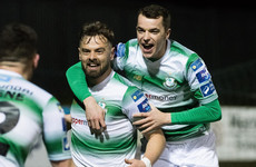 Bolger delivers 85th-minute winner to send impressive Shamrock Rovers seven points clear