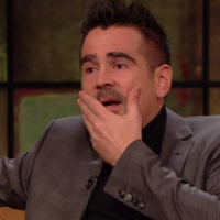 Colin Farrell was overcome with emotion when he spoke about his son on The Late Late Show