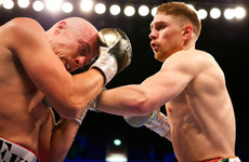 Donegal's Jason Quigley dismantles Finnish opponent inside two rounds in London