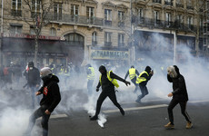 French yellow vest marches enter 19th weekend, as protestors banned from Champs-Elysées