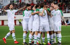 Jeff Hendrick scores the first Ireland goal of new Mick McCarthy era