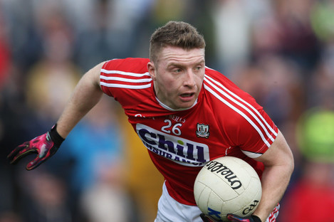 Brian Hurley scored two goals for Cork on Sunday against Armagh.
