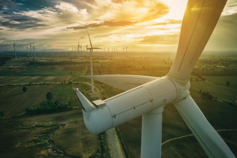 File photo of wind turbines