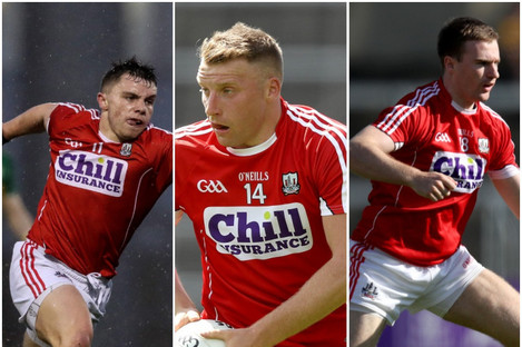 The trio of Sean Powter, Brian Hurley and Matthew Taylor are on the Cork injury list.
