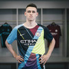 Man City's new mash-up kit is nine shirts in one