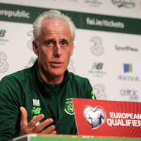 McCarthy calls on Irish fans to back the team amid rumours of in-game protests against FAI