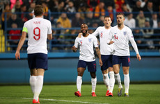 Barkley brace helps England hammer Montenegro to maintain perfect start to qualifiers