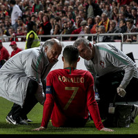 Ronaldo forced off early with injury as Portugal held to second successive draw