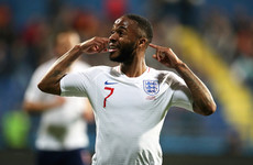 Sterling calls for stadium bans as Uefa charge Montenegro over racist abuse