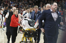 'It made me sick to my stomach' - Portland star suffers horror leg break in NBA game