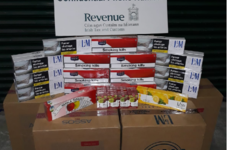 Revenue seizes €35,000 worth of cigarettes and pipe tobacco from cargo vessel