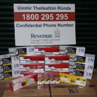 Revenue seizes €35,000 worth of cigarettes and pipe tobacco from cargo vessel