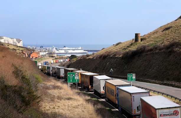 Irish trucks can keep accessing the continent through the landbridge in the event of a hard Brexit, Cabinet told