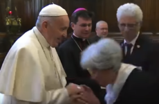 Video showing Pope Francis trying to avoid having his ring kissed goes viral