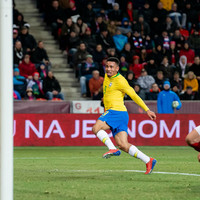 Man City's Jesus hits double to seal unconvincing win for Brazil