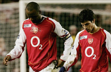 'This is the kid who made me leave Arsenal' - Vieira 'blames' Fabregas for Gunners exit