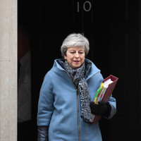 Theresa May tells MPs she 'won't stand in way' of next leader, but DUP stands firm