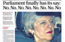'The end of May': UK front pages react to Brexit latest