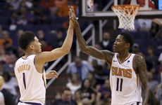 Booker breaks NBA's 50-point record, George and Westbrook boost Thunder's playoff push