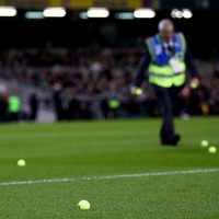 Republic of Ireland hit with Uefa charge over tennis ball protest