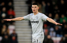 West Ham open to selling Rice for the right price this summer