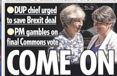 'Come on Arlene!': How the British papers are covering the latest Brexit twist