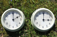 Don't forget! The clocks are going forward this evening