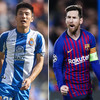 Chinese sensation set to face off against Messi in Barcelona derby