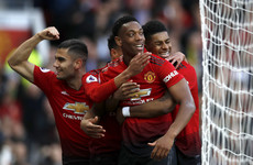 Rashford and Martial on target as Manchester United move into fourth place against Watford