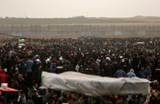 3 Palestinians killed by Israeli fire as tens of thousands gather at Israel-Gaza border