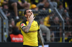 Borussia Dortmund go top of Bundesliga with two injury-time goals